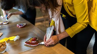 Best of Slovenia Education Trip - Making Gingerbread Hearts