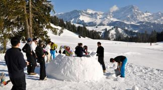 Kranjska Gora DMC - Igloo Building