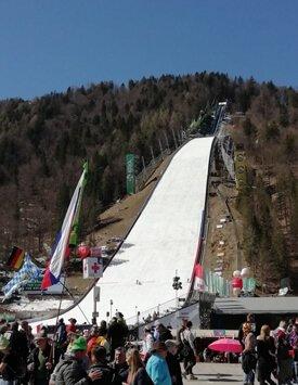 Ski Jumping slope in Slovenia
