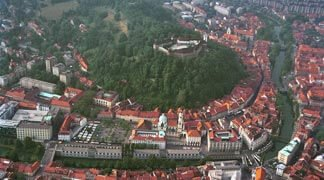 Destination Management - Ljubljana Panoramic View