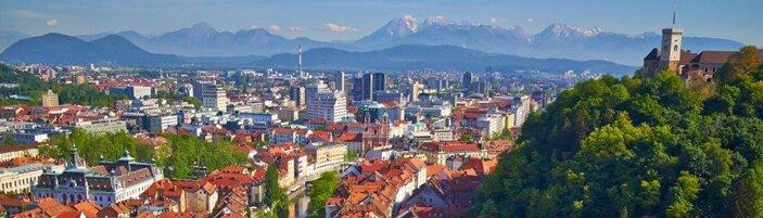Destination Management - Ljubljana Air View