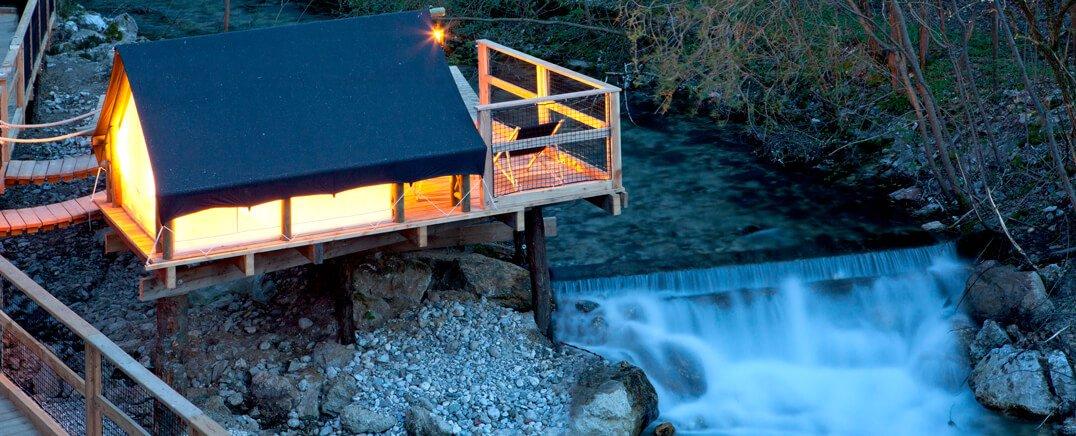 Top Glamping Resorts Slovenia